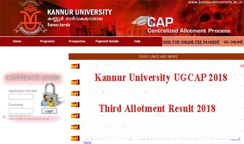 KAnnur Degree Third Allotment 2018