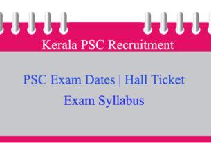 PSC Exam Calendar