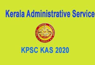 KAS 2020 Kerala